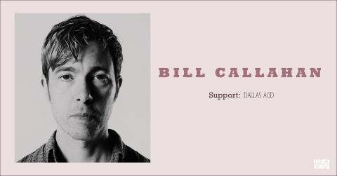 Bill Callahan – fra legendariske Smog – for aller første gang på Rockefeller!
