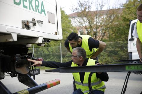 Fuldt optag på erhvervsuddannelsen for faglærte lastbilchauffører