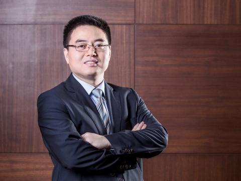 Mr David Liu, VD Huawei Technologies Sweden AB
