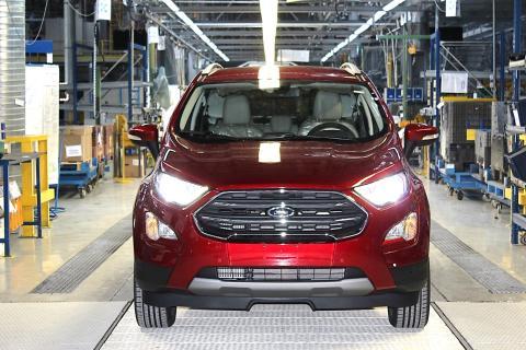 Produktionsstart des neuen Ford EcoSport in Craiova