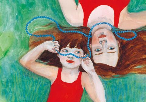 »Dyksommar«  – nyutkommen bilderbok av Sara Stridsberg och Sara Lundberg