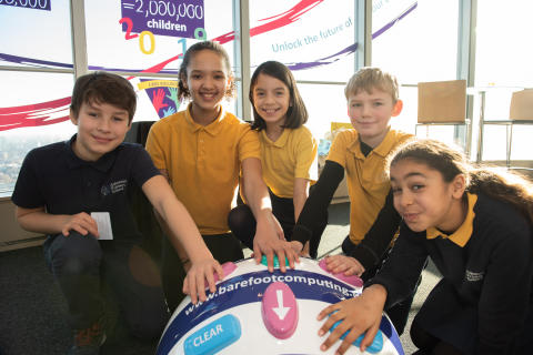 Two million pupils inspired by the Barefoot programme