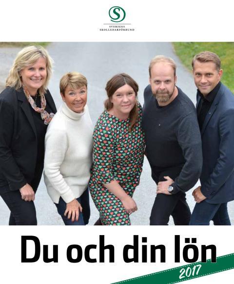 Sveriges Skolledarförbunds lönestatistik 2017