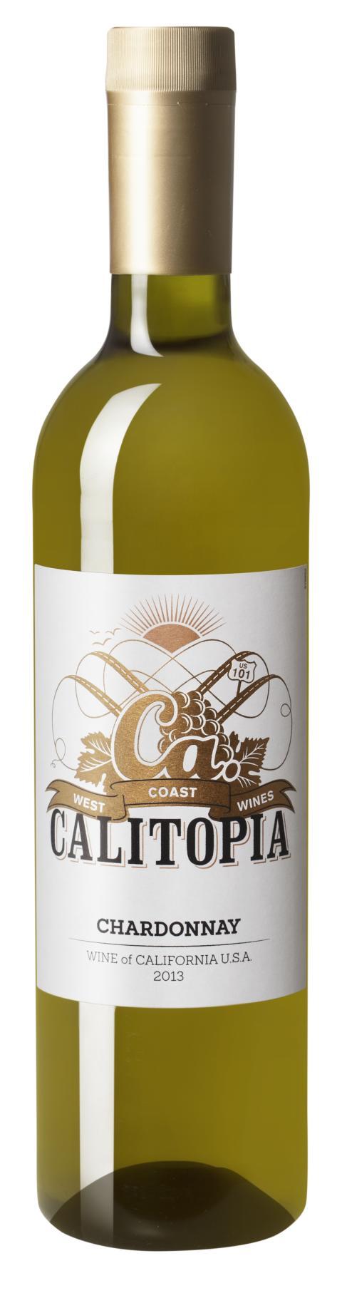 Calitopia Chardonnay sätter guldkant på vinutbudet på PET-flaska  – kaliforniskt chardonnay i smart förpackning lagom till sommaren