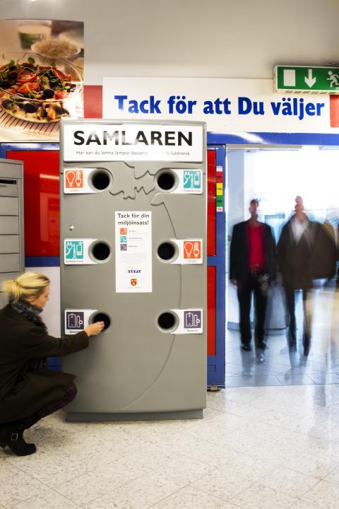 Nu blir det enklare att lämna farligt avfall i Malmö