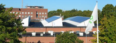 Europas största solcellsanläggning i sitt slag invigs på campus LTH
