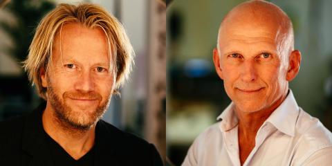 Erik Nissen Johansen and Olle Langenius