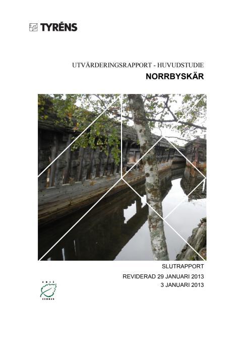 Utvärderingsrapport Norrbyskär