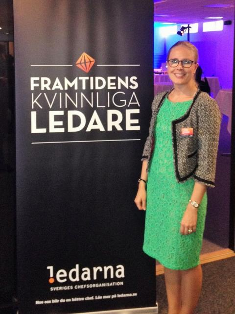 Caroline Johansson en av framtidens kvinnliga ledare