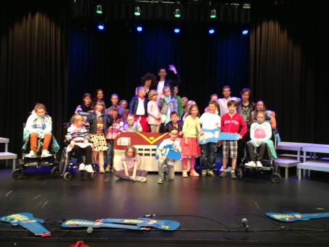 GRIIIS – en musikal av och med särskolan på Ljungenskolan