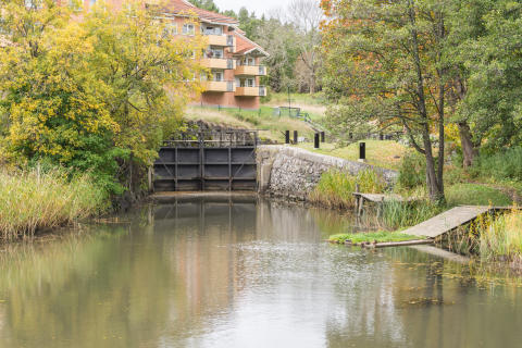 Slussen Åkers kanal