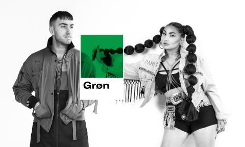 Cisilia og Joey Moe teamer op på Grøn 2018