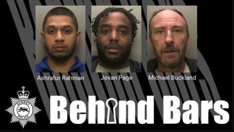 Three men jailed for county lines drugs offences, one only two months after prison release