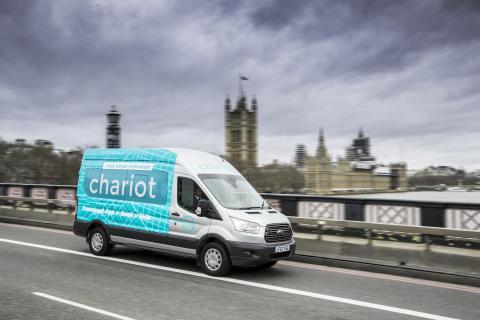 Ford lanserer samkjøringstjenesten Chariot i London