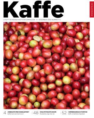 Ny utgave av magasinet KAFFE