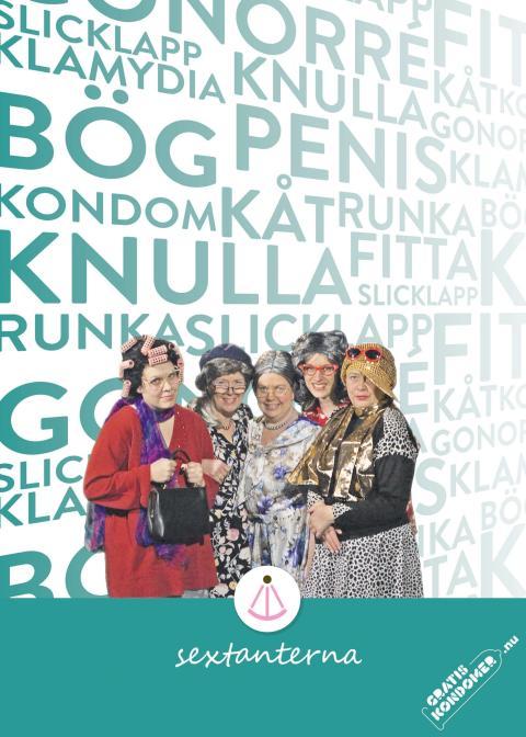 Affisch Sextanterna