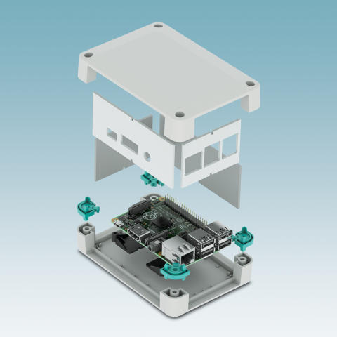 Electronics housings for Raspberry Pi