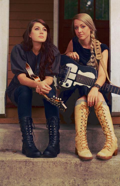Larkin Poe –soulsingin' songwriting sisters, direkt från Atlanta, USA