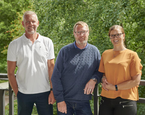 Niclas Blomkvist, Anders Jonasson, Johanna Bergman