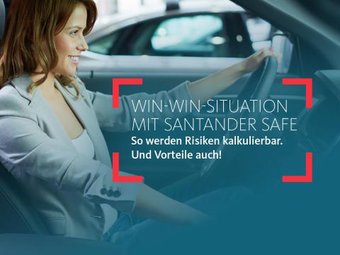 Erfolgreiches Versicherungsgeschäft: eine Million Verträge Santander Safe