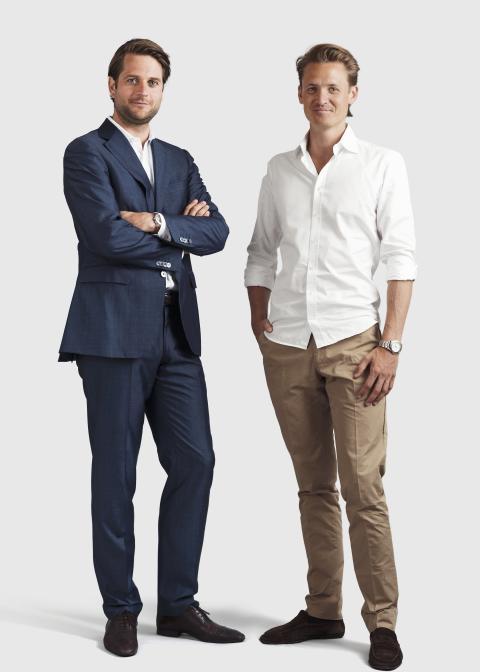 Sebastian Siemiatkowski, CEO & Niklas Adalberth, deputy CEO