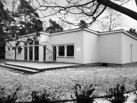 Visningshus Malmö - fasad