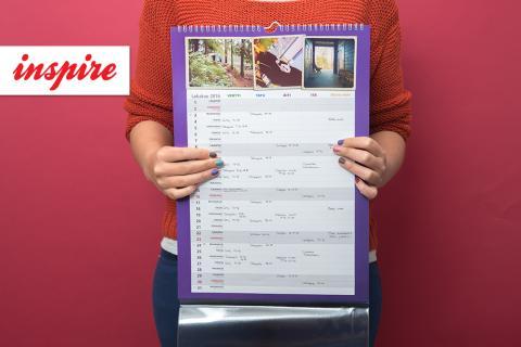 Joululahjaidea: saajansa näköinen kalenteri!