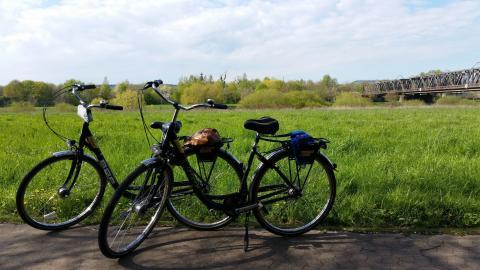 Weser sykkelsti, Tyskland