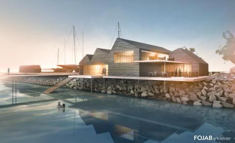 Ett steg närmare kallbadhus i Skanörs hamn
