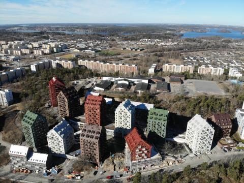 """Titania: """"14 hus med 730 lägenheter på 2,5 år måste vara ett rekord"""""""