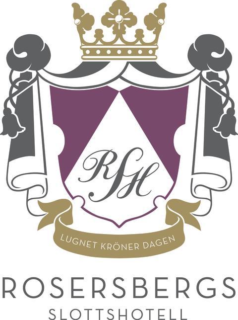 Rosersbergs Slottshotells logotype