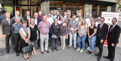 Freude in Dormagen über Spenden der Sparkassenstiftung im Rhein-Kreis Neuss