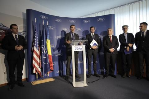 Vizita Premier Ludovic Orban@Craiova - Andrew McCall - Vicepreședinte Afaceri Guvernamentale al Ford Europa