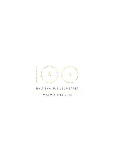 Logotyp Baltiska jubileumsåret