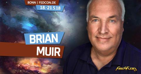Star Wars-Modellierer Brian Muir bringt die Macht auf die FedCon 27 in Bonn vom 18. - 21.05.2018!