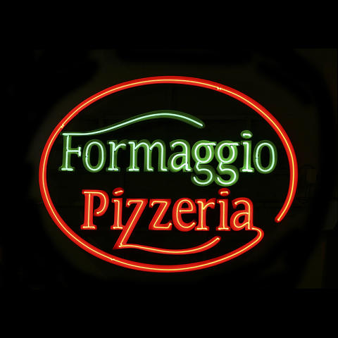 Neonskylt Formaggio