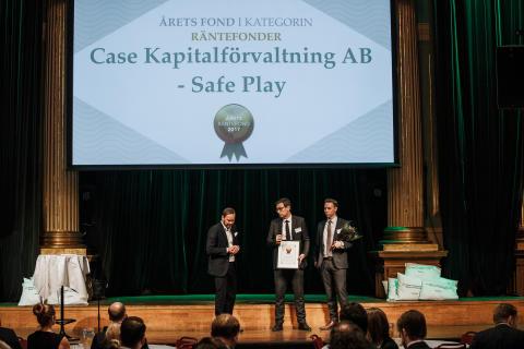 Årets Räntefond 2017 - Case Kapitalförvaltning AB Safe Play