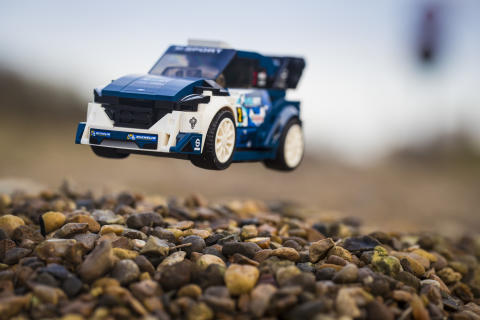 Ford afslører LEGO-udgave af Ford Fiesta WRC
