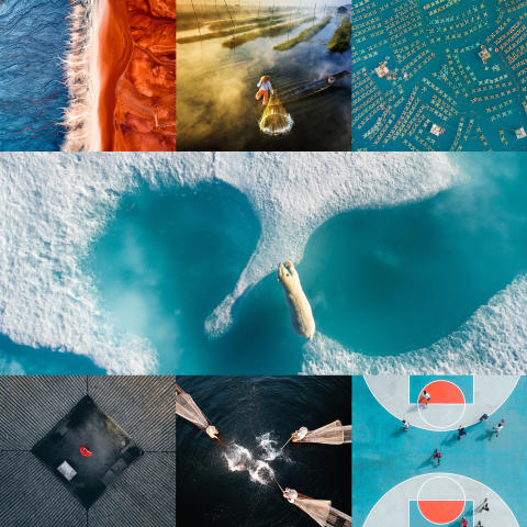 SkyPixel Unveils The Best Aerial Photos of 2017