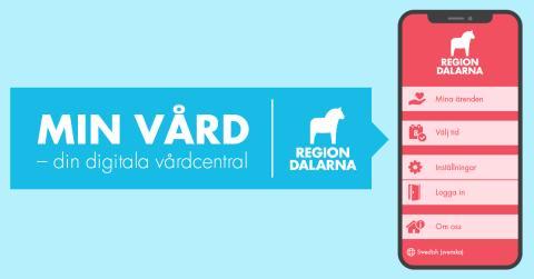 Träffa din läkare online – fler tider tillgängliga i Region Dalarnas digitala vårdcentral Min vård