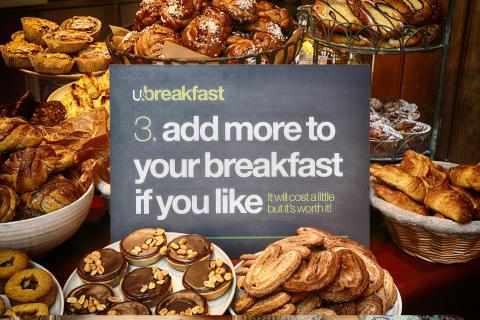 U&breakfast - på U&Me är gästen med och skapar sin upplevelse - steg 3