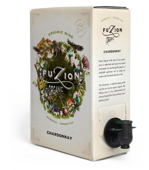 We & Wine lanserar Fuzion Organic Chardonnay på Systembolaget 2/12 2019