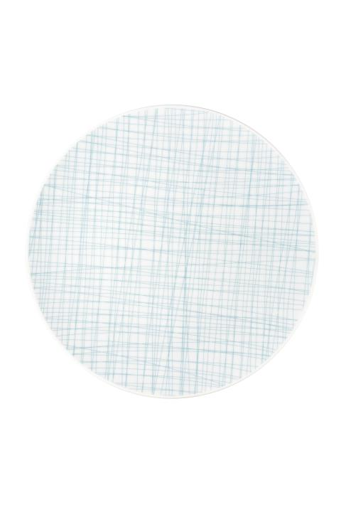 R_Mesh_Line Aqua_Plate 30 cm flat