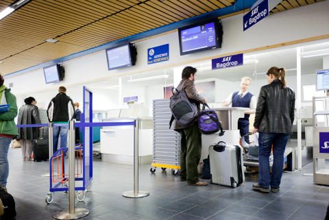 Smoother baggage check-in at Stockholm Arlanda