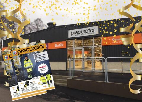 Vi firar att vi har öppnat i Karlstad!