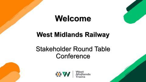 WMR Stakeholder Conference 2020 - Slide Deck