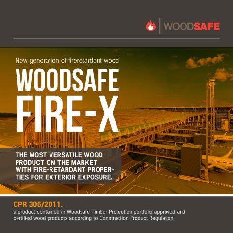 Ny unikt brandskydd från Woodsafe
