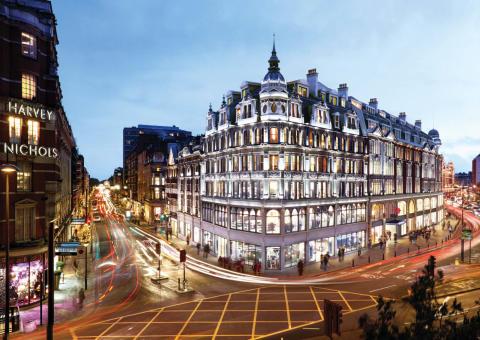 Skanska bygger kommersiell fastighet i London, UK, för cirka 1,6 miljarder kronor