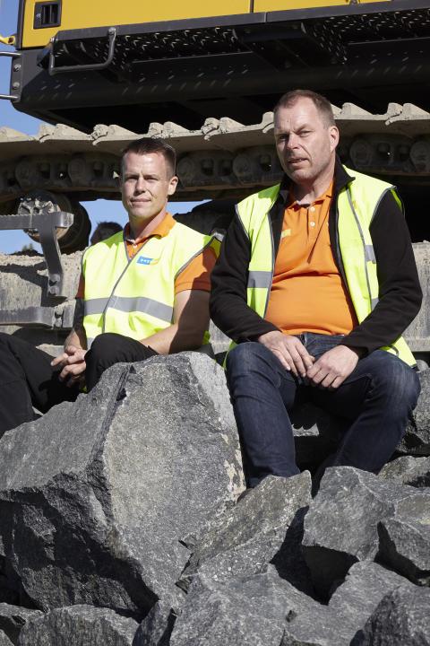 Eco Operator - instruktörerna Martin Karlsson och Urban Gustafsson från Swecon