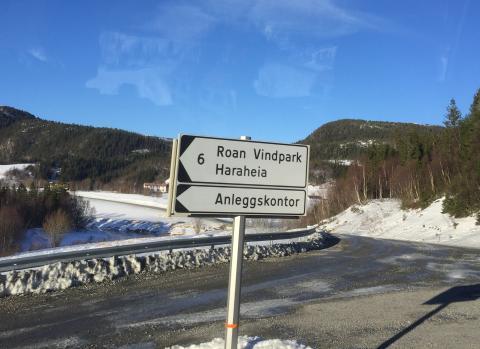 Adkomstvei til Haraheia